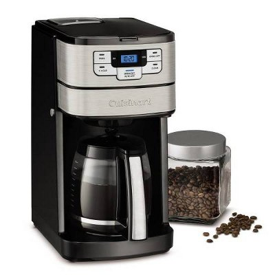 Cuisinart 12 Cup AutomaticGrind & Brew Coffeemaker - Stainless Steel - DGB-400TG