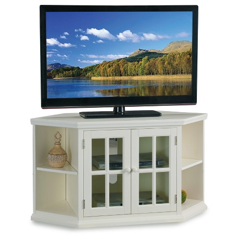 TV Stand White - Leick Home - image 1 of 4