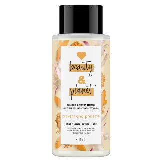 Love Beauty & Planet Turmeric and Tonka Essence Prevent and Preserve Conditioner - 13.5 fl oz