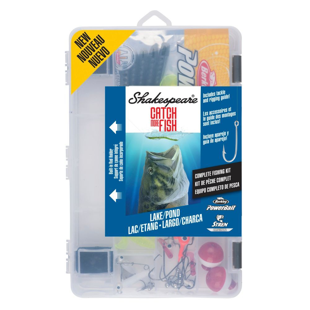 Image of Shakespeare Tackle Kit - Lake Pond