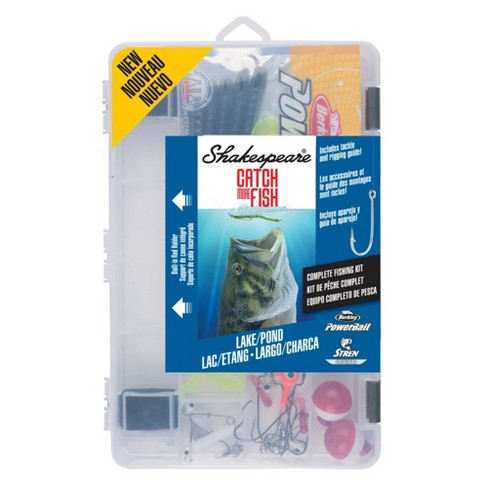 Shakespeare Tackle Kit - Lake Pond - image 1 of 1
