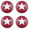 Sumner Street Home Hardware 4pc Star Painted Knob Red - image 3 of 3