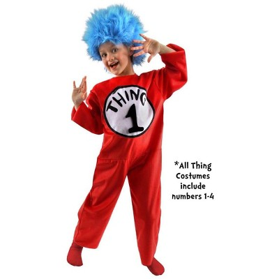 Elope Dr. Seuss Thing Costume Child