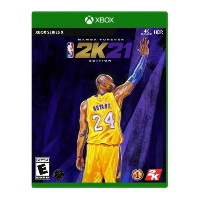 NBA 2K21: Mamba Forever Edition - Xbox Series X
