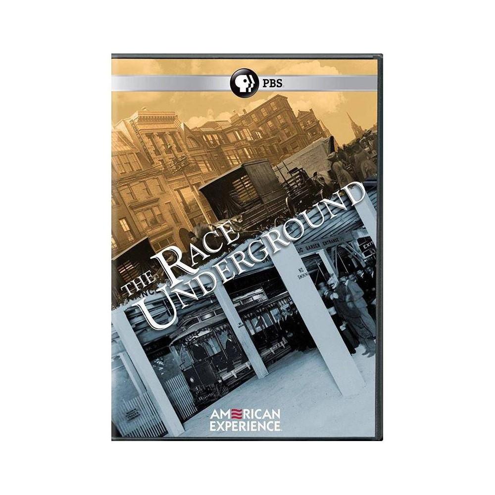American Experience Race Underground Dvd