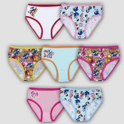 Girls' Sonic the Hedgehog 7pk Underwear