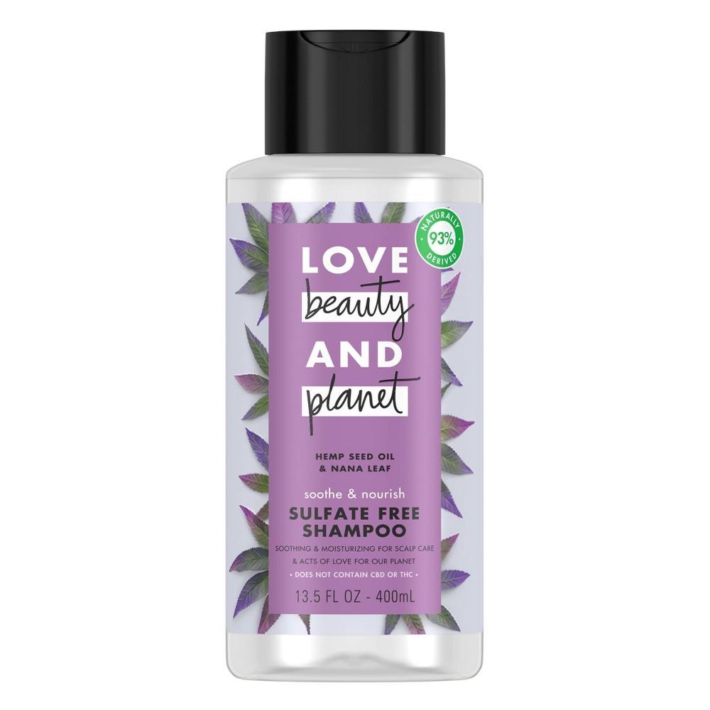 Image of Love Beauty and Planet Hemp Seed Shampoo - 13.5 fl oz