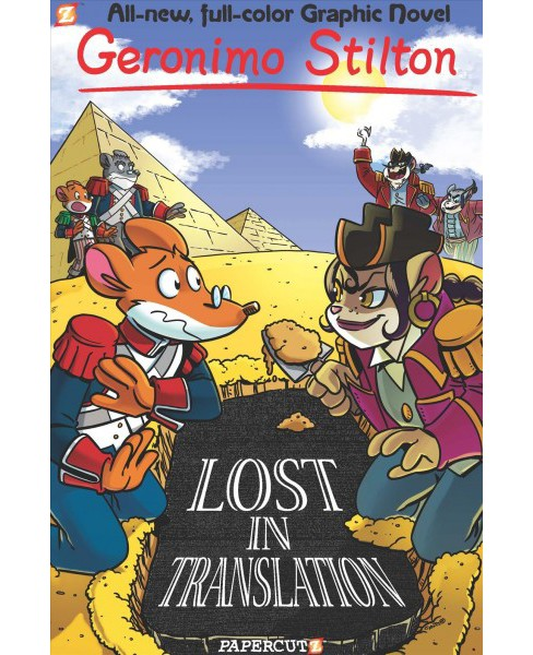 Geronimo Stilton 19 : Lost in Translation -  (Hardcover) - image 1 of 1