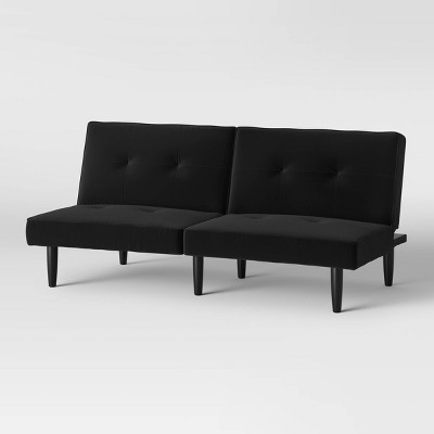 Futon Sofa Black - Room Essentials™