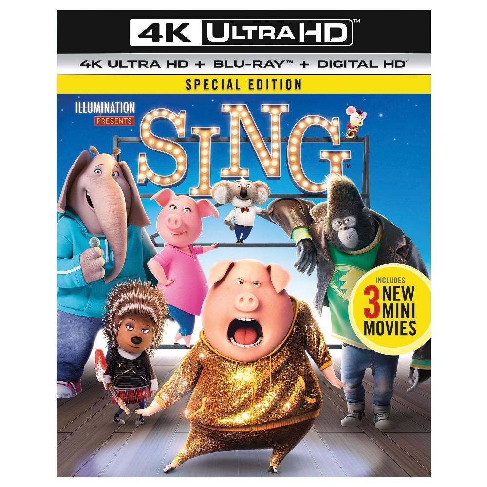 Sing (4K/Uhd + Digital), Movies