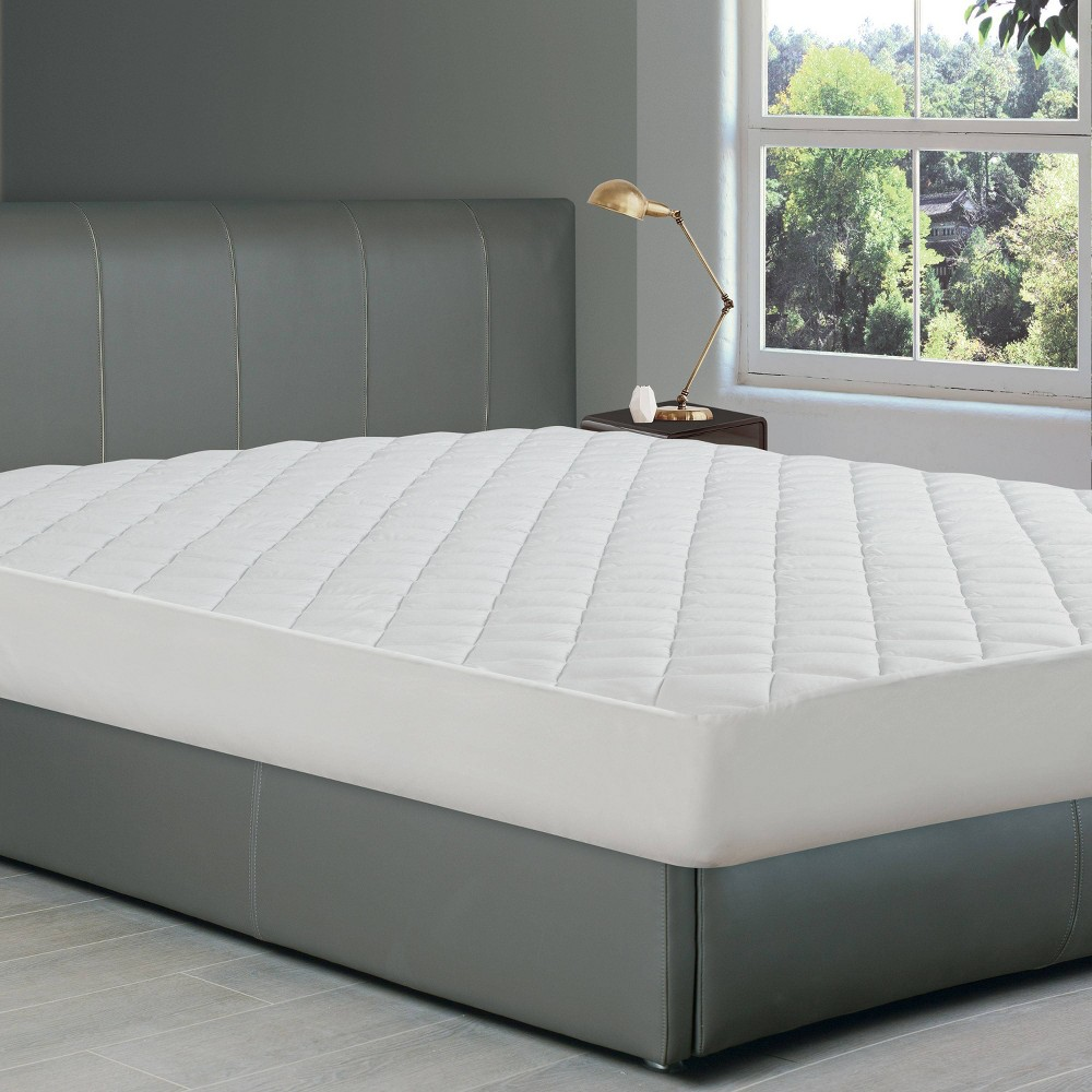 Twin Ultra Fresh Fitted Mattress Pad All In One