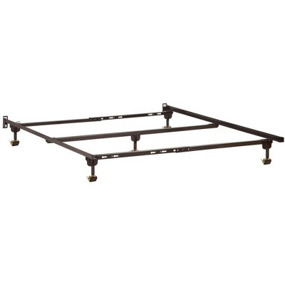 Atlantic Metal Bed Frame T-TXL-F-Q with Glides - Atlantic Furniture