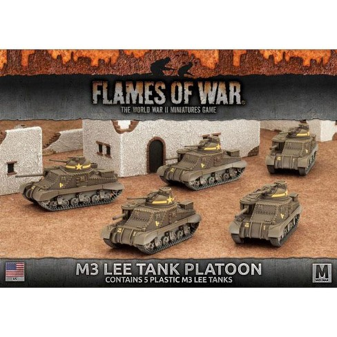 M3 Lee Tank Platoon Miniatures Box Set - image 1 of 1
