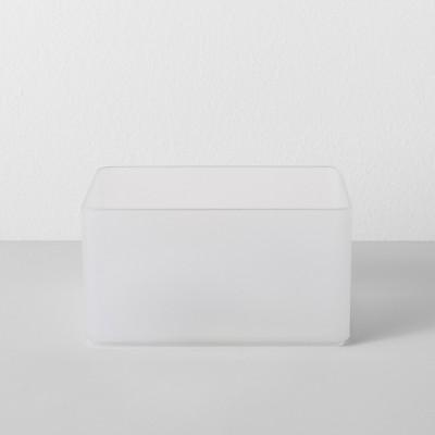Medium Plastic Bathroom Tray Clear - Made By Design™