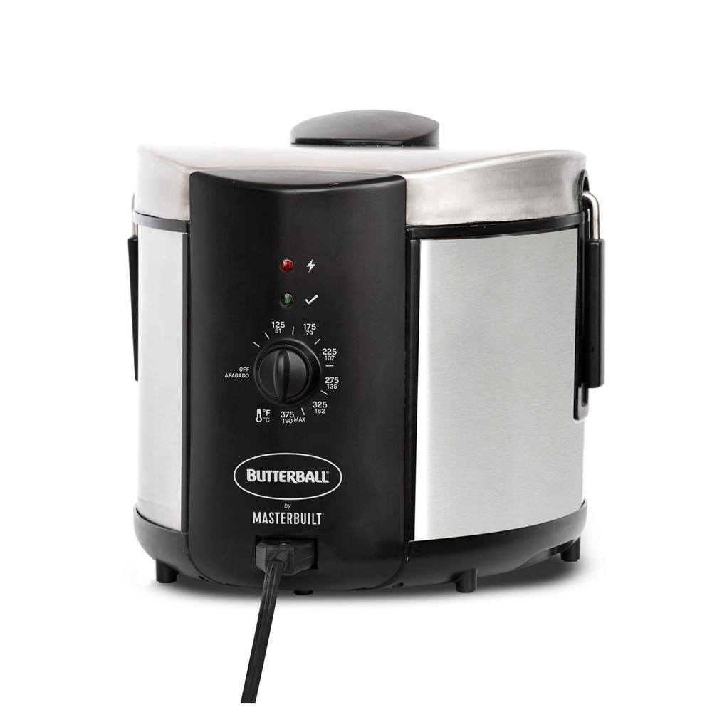 Image of Butterball 5L Electric Fryer Stainless Steel, Medium Silver