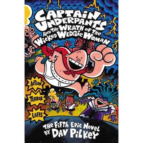 Captain Underpants 5 Wedgie Woman