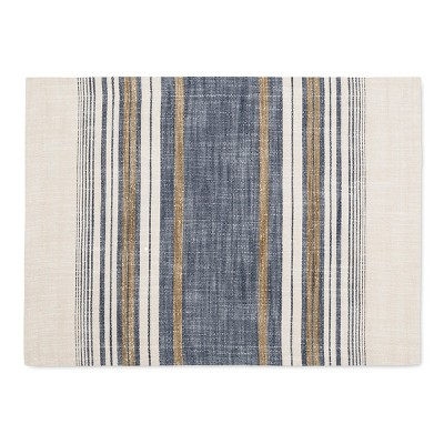 Blue Yarn Dye Stripe Placemat - Threshold™