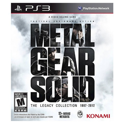Metal Gear Solid: Legacy Collection PlayStation 3 - image 1 of 1