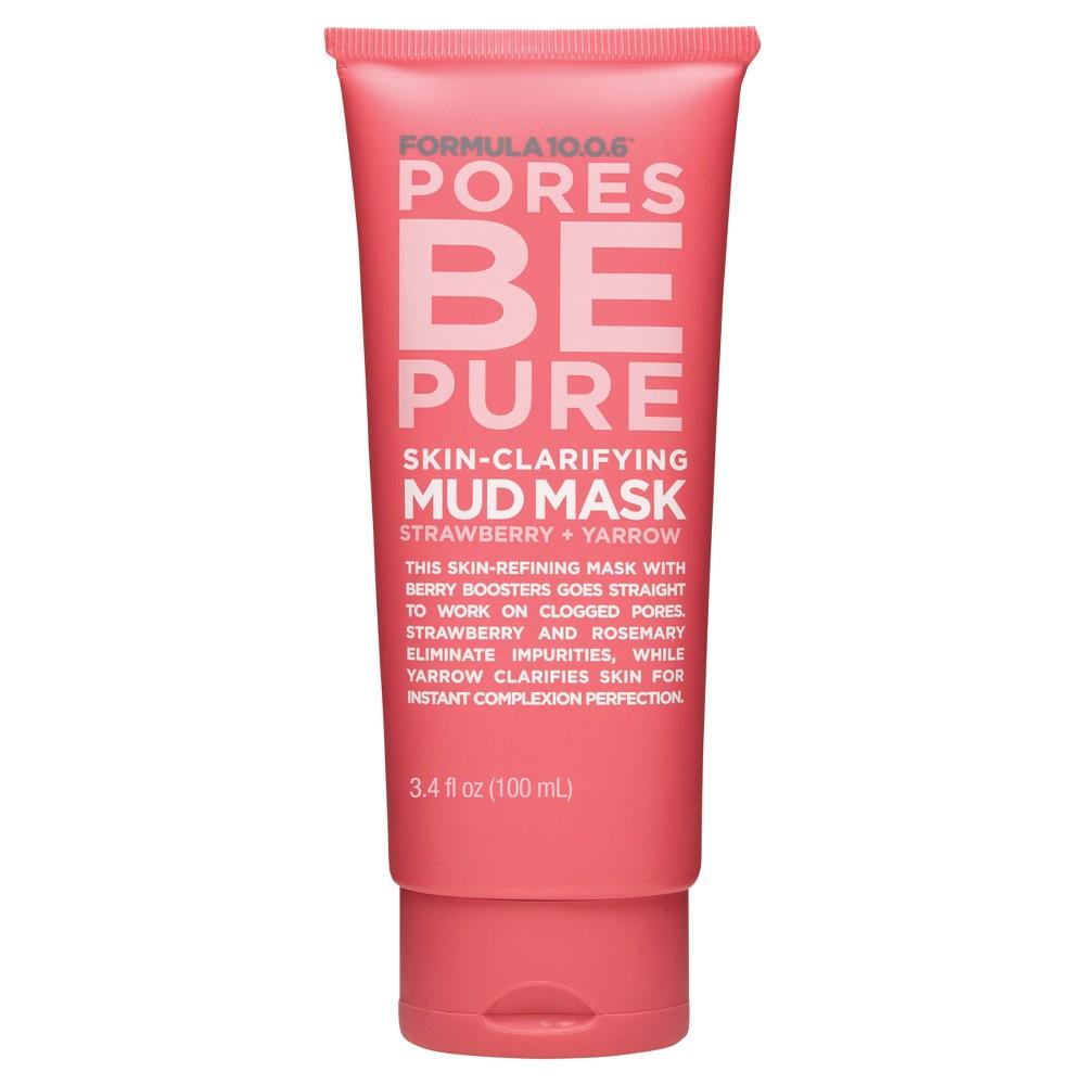 Formula 10.0.6 Pores Be Pure Mud Mask - 3.4 oz