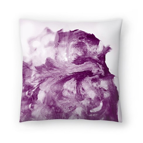 Americanflat Grape Glitter By Ashley Camille Throw Pillow Target