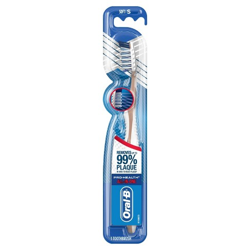 Oral-B Pro-Health All-in-One 40 Soft Bristle Manual Toothbrush - 1ct - image 1 of 8