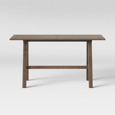 60  Eastford Groove Dining Table Brown - Threshold™