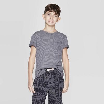bdefba98dbf60 Boys  Short Sleeve Stripe T-Shirt with Pocket - art class™