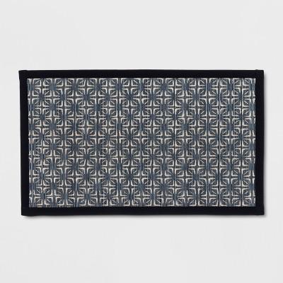 32 x20  Tile Kitchen Rug Chalk Blue - Threshold™