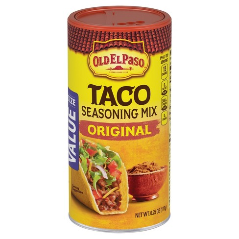 Old El Paso Taco Seasoning Mix Original 6.25 oz - image 1 of 1