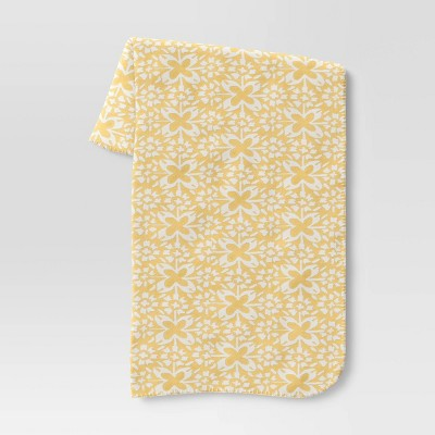 "60""x50"" Jacquard Chenille Throw Blanket - Threshold™"