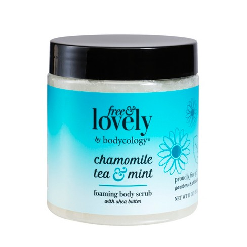 bodycology Free & Lovely 11 oz Chamomile Tea & Mint Foaming Scrub - image 1 of 3