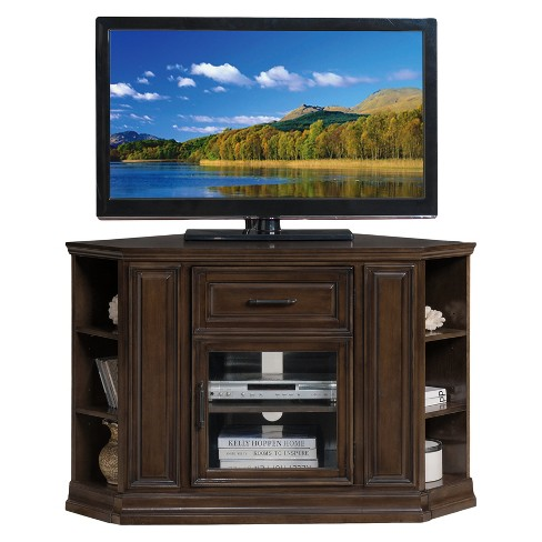 TV Stand Pecan - Leick Home - image 1 of 9