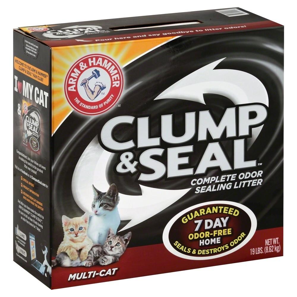 Arm & Hammer Cat Litter Clump & Seal Multi-Cat - 19lbs