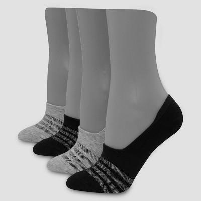 Hanes Premium Women's 4pk Liner Socks 5-9