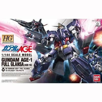 Bandai Hobby Gundam AGE #35 AGE-1G AGE-1 Full Glansa HG 1/144 Model Kit