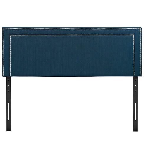 Jessamine Full Upholstered Fabric Headboard Azure - Modway - image 1 of 4