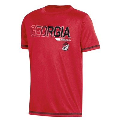 Two Feet Ahead NCAA Georgia Tech Children Unisex Short Sleeve Tshirt,XSmall,Navy