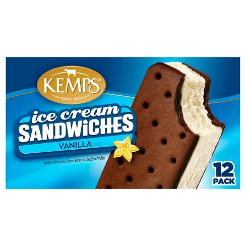Kemps Vanilla Ice Cream Sandwiches - 12pk - image 1 of 1