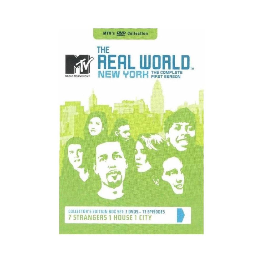 Mtv S Real World New York Complete 1st Season Dvd