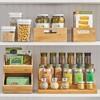 mDesign Bamboo Kitchen Drawer Organizer Tray - Natural Wood - image 3 of 4