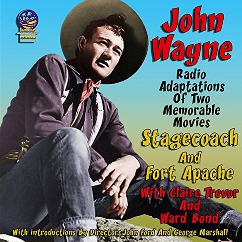 John Wayne - Stagecoach:Fort Apache (CD) - image 1 of 1