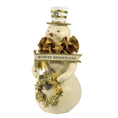 "Christmas 7.75"" Gabriel Snowman Winter Wonderland  -  Decorative Figurines"