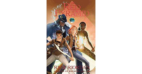 Red Pyramid : The Graphic Novel (Hardcover) (Rick Riordan) - image 1 of 1