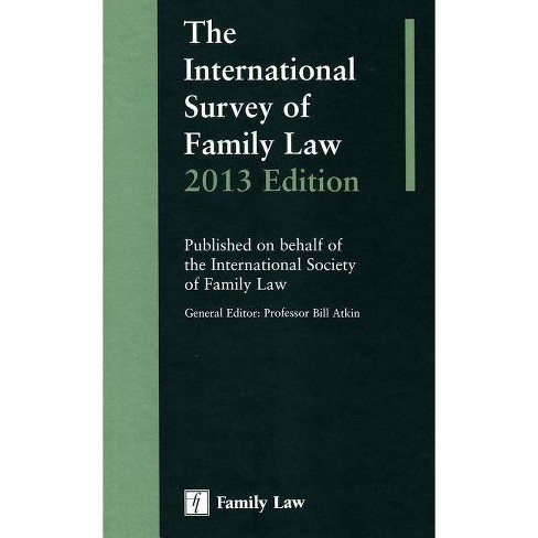 International Survey of Family Law 2013 Edition - (Hardcover) - image 1 of 1
