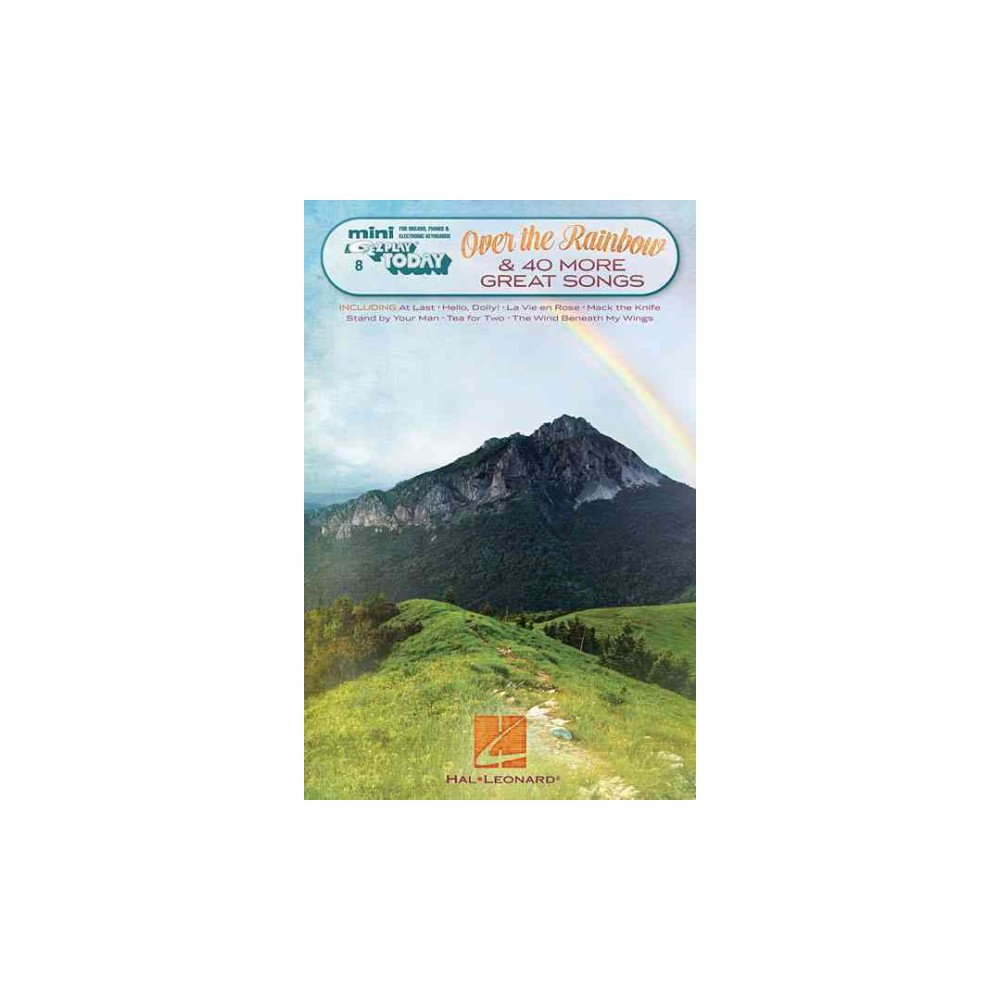Over the Rainbow & 40 More Great Songs (Paperback)