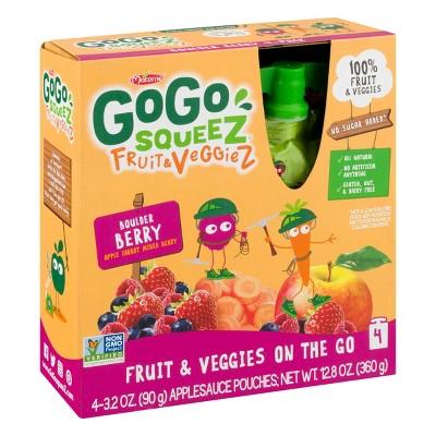 Applesauce: GoGo SqueeZ Fruit & VeggieZ