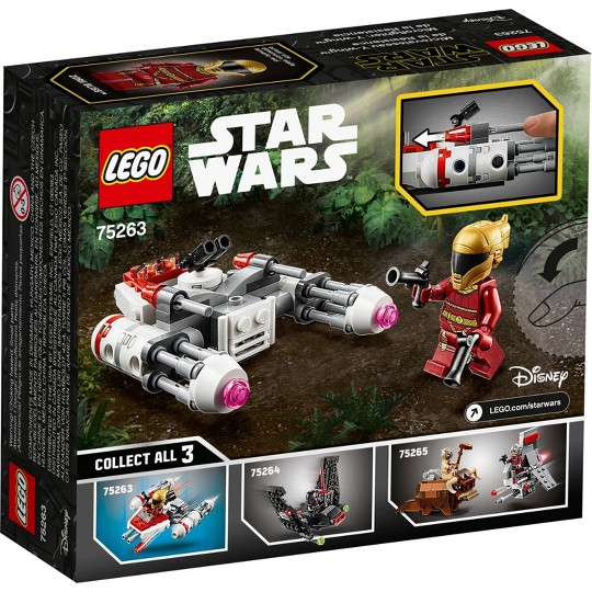 LEGO Star Wars Resistance Y-wing Microfighter Cool Toy Building Kit 75263 image number null