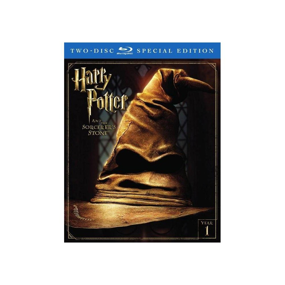 Harry Potter And The Sorcerer 39 S Stone Special Edition Blu Ray