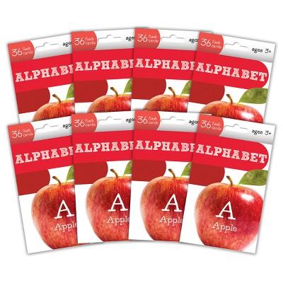8pk Alphabet Flashcards - Kindergarten - Bendon