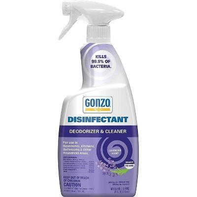 Gonzo Disinfectant Deodorizer & Cleaner - Lavender - 24 fl oz